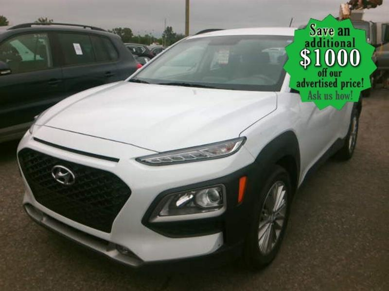 2020 Hyundai Kona Preferred* Awd/htd seats/B.cam #24528