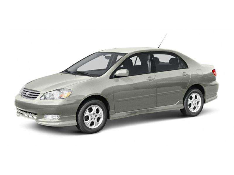 2004 Toyota Corolla CE #P724