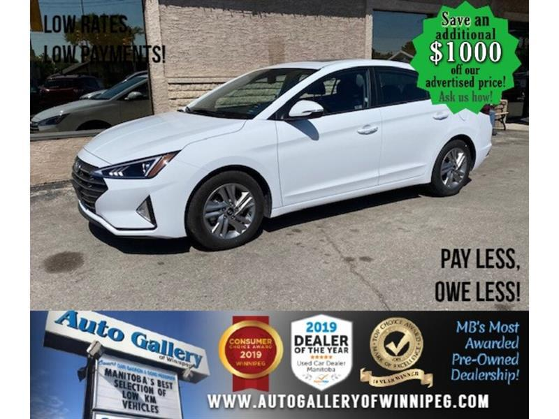 2020 Hyundai Elantra preferred* B.tooth/Htd seats/Roof/B.cam #24536