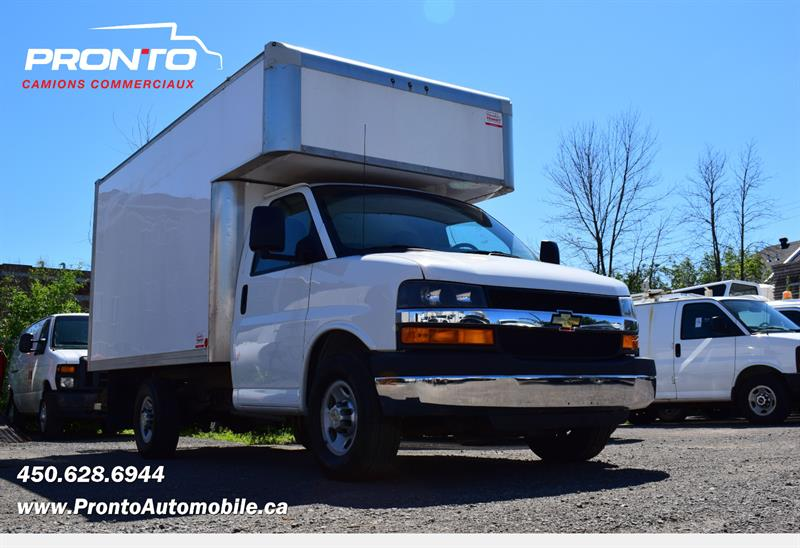 2014 Chevrolet Express Commercial Cutaway 3500 ** 12 PIEDS DECK ** #PP13510