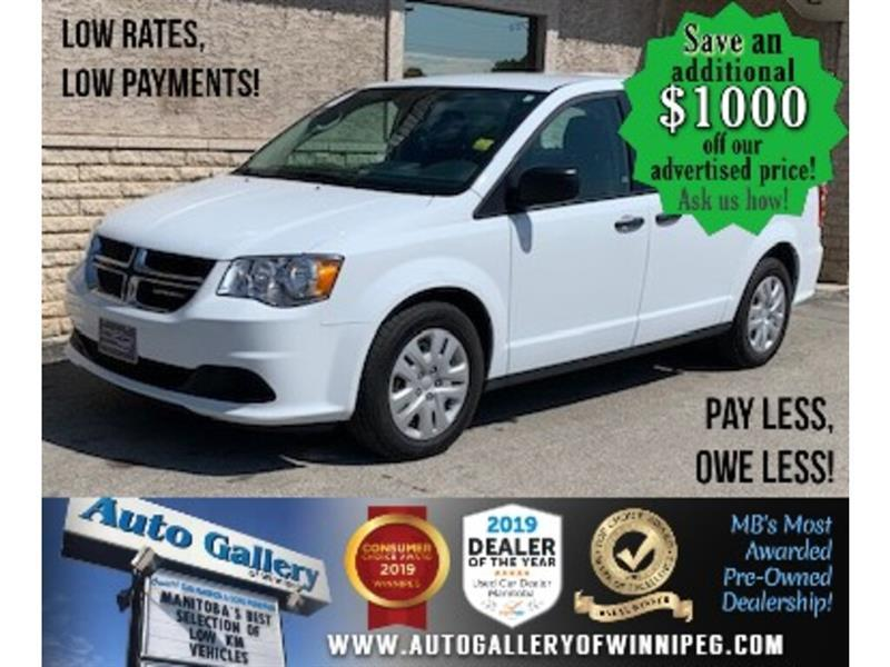2019 Dodge Grand Caravan Canada Value Package 2WD #24482