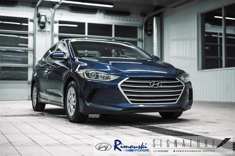 Hyundai Elantra LE chez Rimouski Hyundai 2017