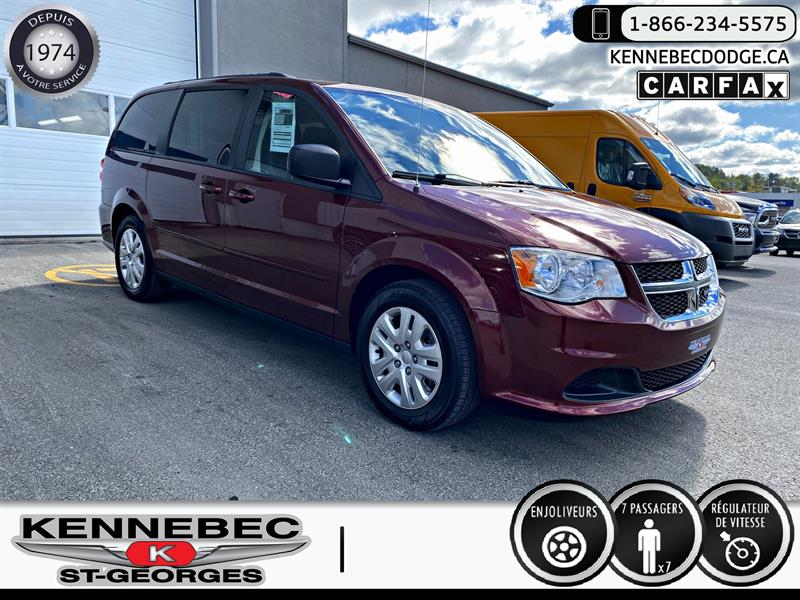 Dodge Grand Caravan 2017 4dr Wgn SXT #39460B