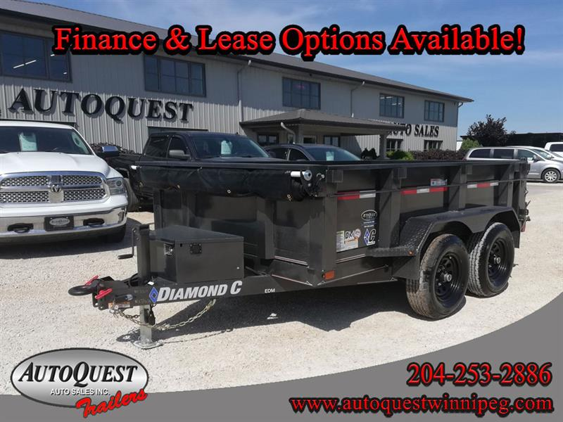 2020 Diamond C 41ED 10' x 77 Dump Trailer - 7 000K