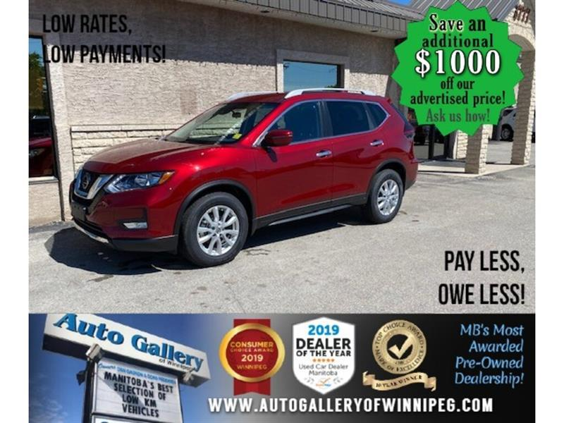 2019 Nissan Rogue SV* Awd/B.cam/B.tooth/Htd seats #24522