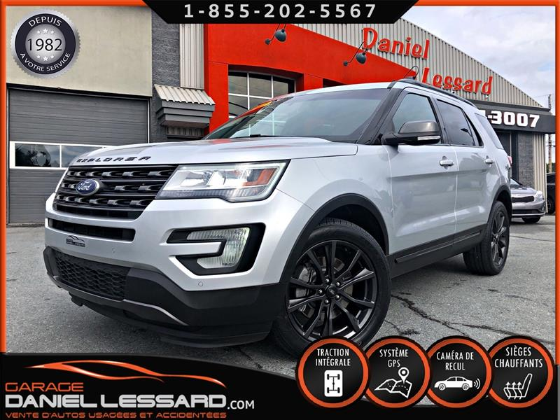 Ford Explorer 2017 XLT AWD, GPS, CUIR/SUEDE, 6 PLACES #70349