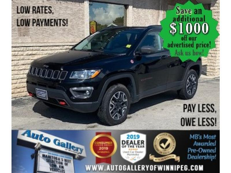2019 Jeep Compass Trailhawk* LOW KMS/4X4/Heated Seats/REMOTE START #24537