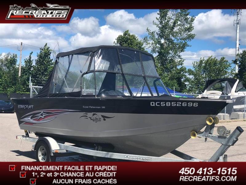 2014 Starcraft Super Fisherman 186