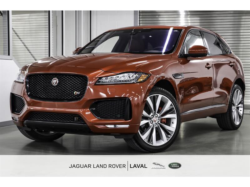 Jaguar F-PACE S AWD *NOUVELLE ARRIVÉE, 380HP 2017