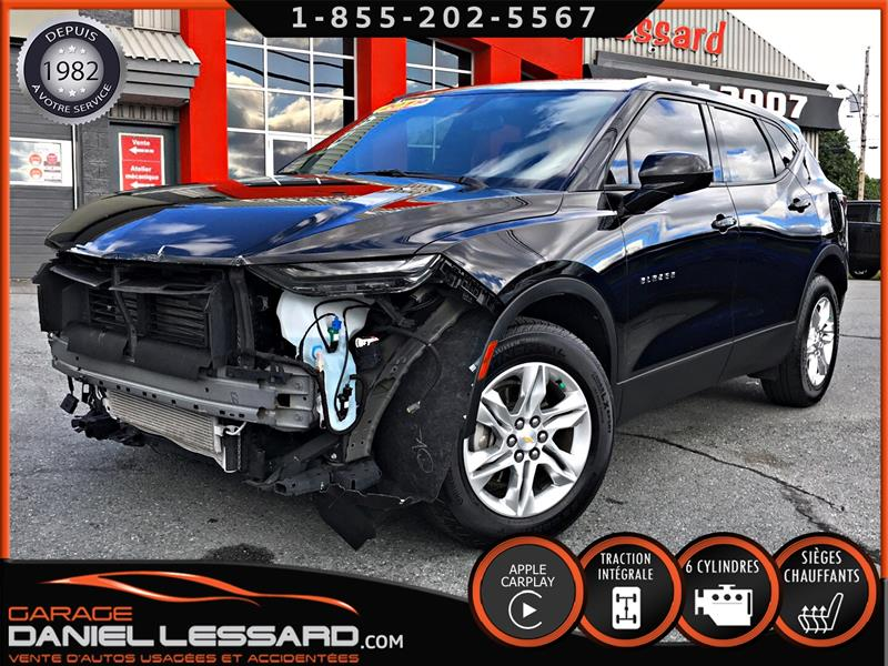 Chevrolet Blazer 2019 AWD 3.6 L, BANCS CHAUFFANT, APPLECARPLAY, MAGS 18' #90387