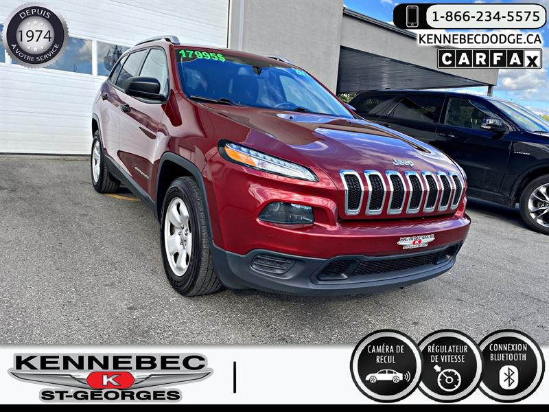 Jeep Cherokee 2016 4WD 4dr Sport #40498A