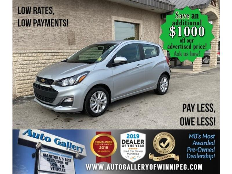 2020 Chevrolet Spark 1LT* B.cam/B.tooth/AT #24557