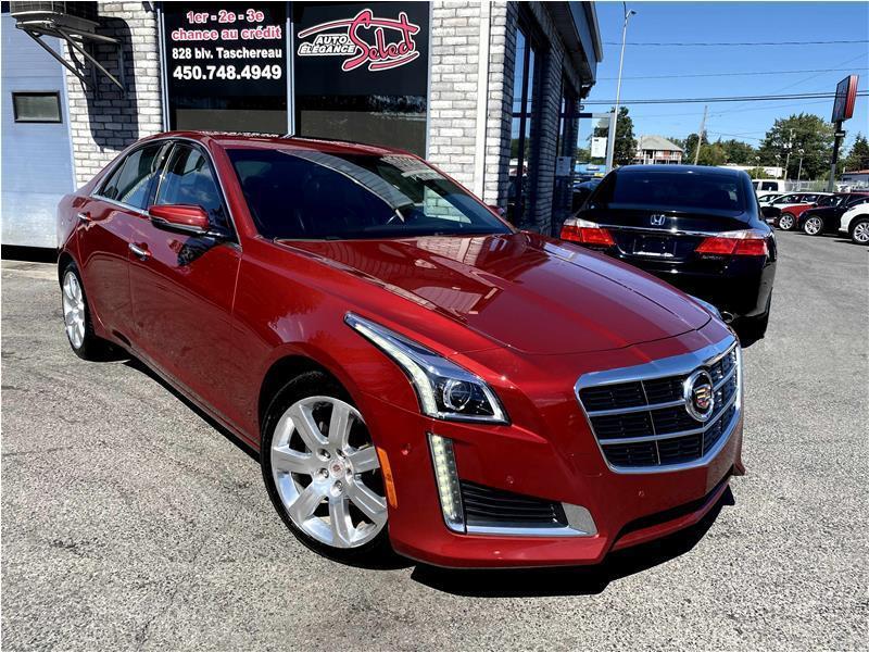 2014 Cadillac CTS 3.6L Performance AWD