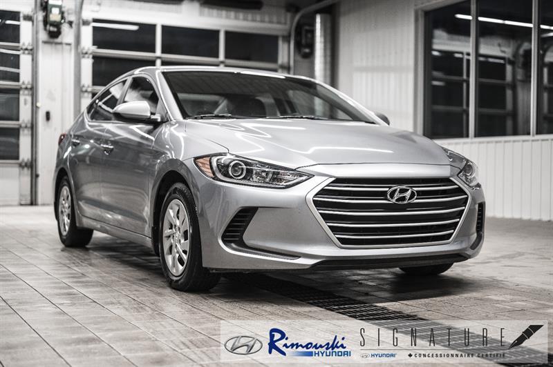 Hyundai Elantra L chez Rimouski Hyundai 2017