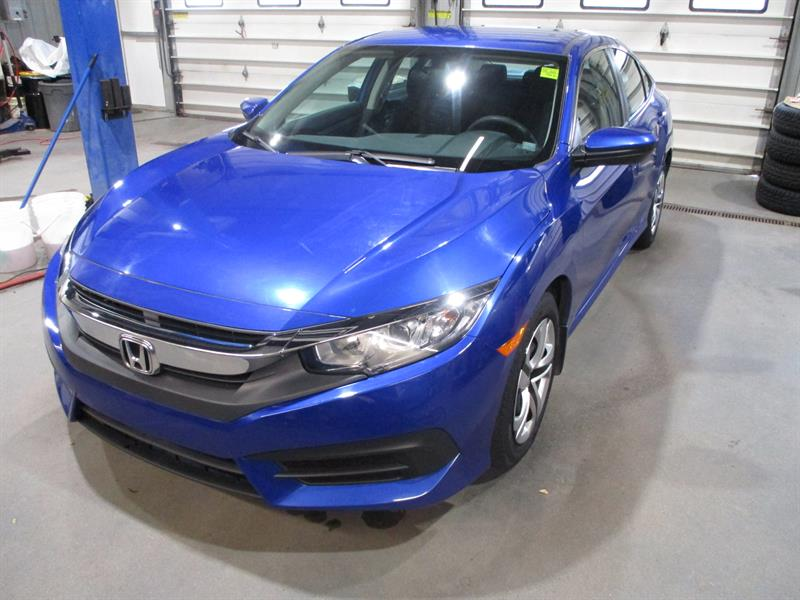 Honda Civic Sedan 2016 4dr Man LX #GH035212A