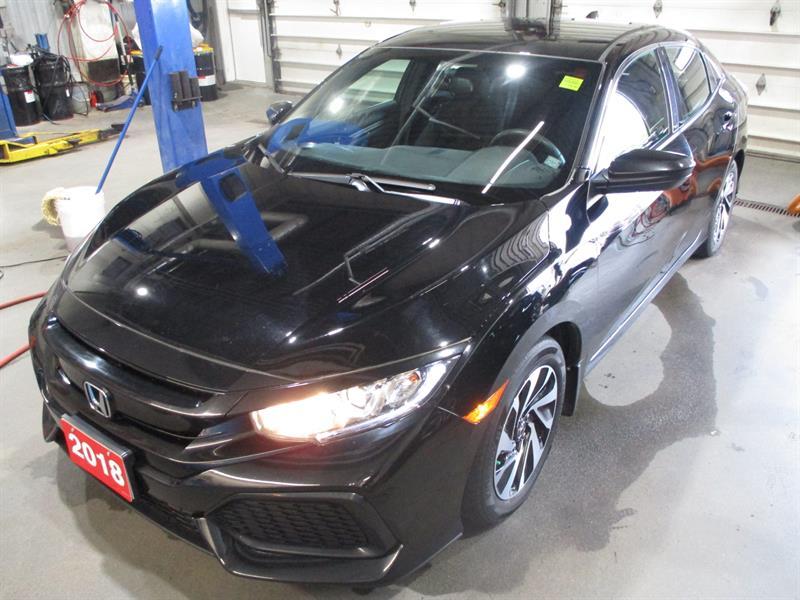 2018 Honda Civic Hatchback LX CVT #JU306621A