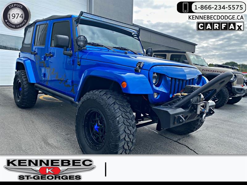 Jeep Wrangler Unlimited 2015 4WD 4dr Sahara #40547A
