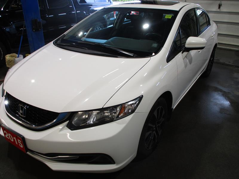 Honda Civic Sedan 2015 4dr Auto EX #FH055623A