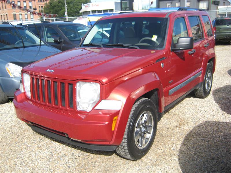 2008 Jeep Liberty 4WD 4dr Sport #158575