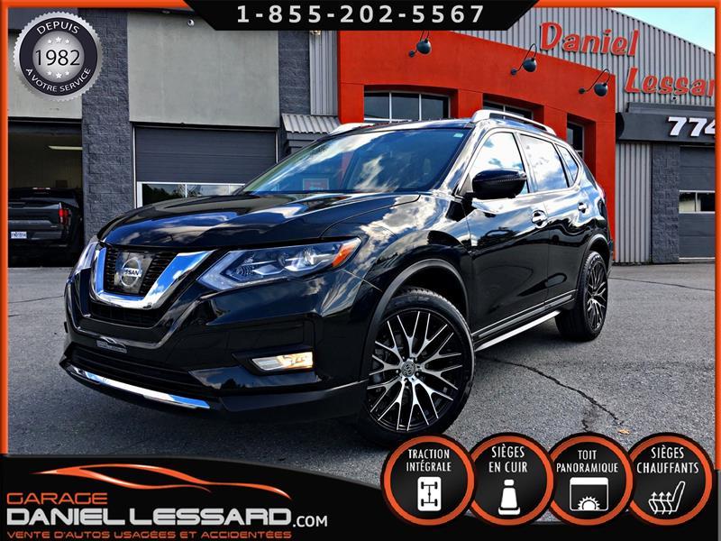 Nissan Rogue 2017 SL AWD, TOIT PANO, CUIR, GPS, MAG 19 P #70100