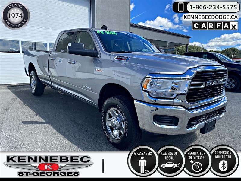 Ram 2500 2019 Big Horn 4x4 Crew Cab 8'' Box #05308