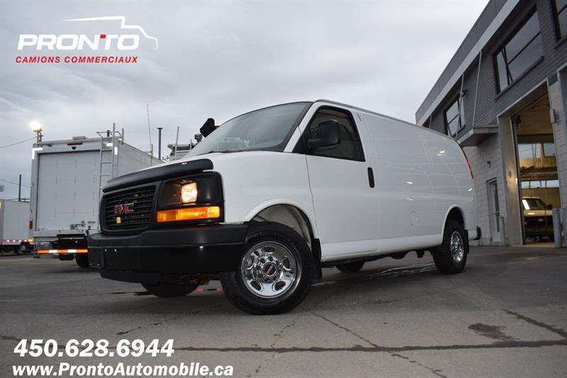 2014 GMC Savana Cargo Van 2500 ** 4.8L ** Gr. Électrique ** Full rack **  #1348