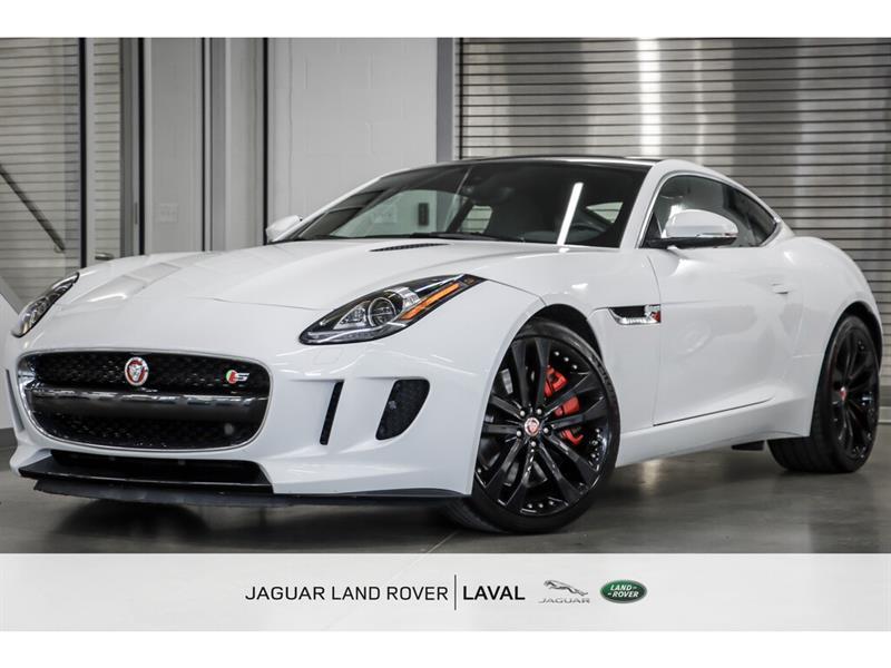 Jaguar F-Type V6 S Coupe *NOUVELLE ARRIVÉE!* 2015