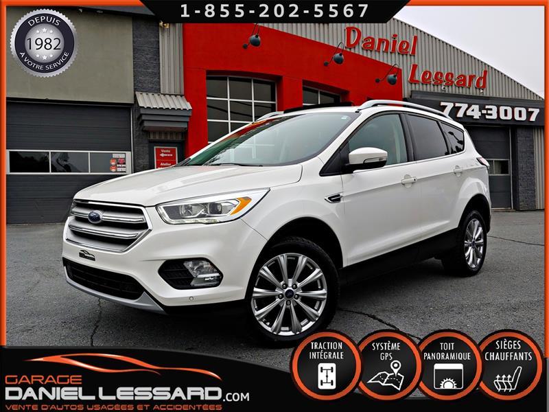 Ford Escape 2018 TITANIUM, 2.0, GPS, CUIR, TOIT OUVRANT, MAG 18 P #80445