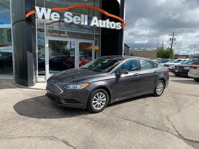 2017 Ford Fusion S #17FF62035