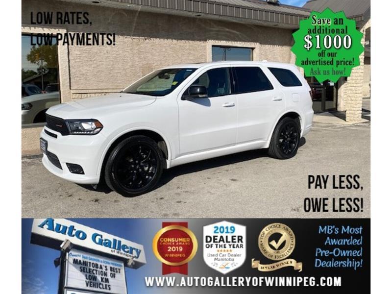 2019 Dodge Durango GT* Awd/7pass/Navi/Roof #24578