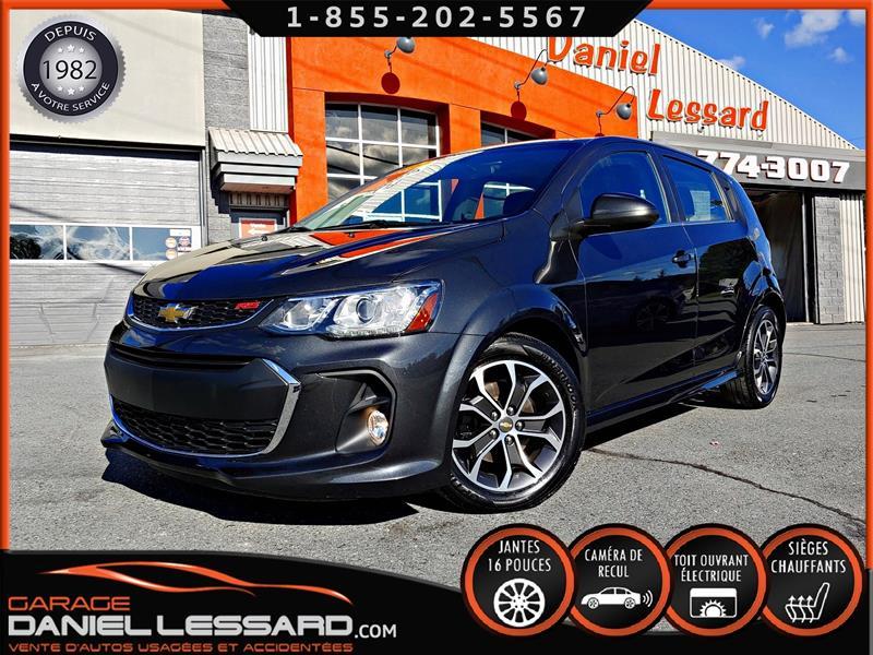 Chevrolet Sonic 2017 HBK, TOIT, CAM RECUL, MAG 16P WOW #70442