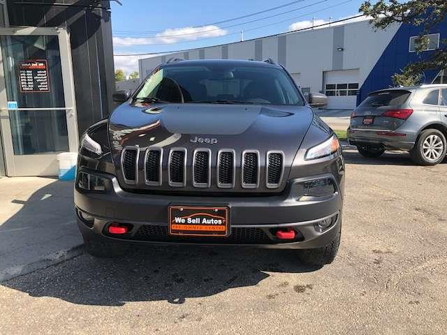 2017 Jeep Cherokee Trailhawk #17JC98071
