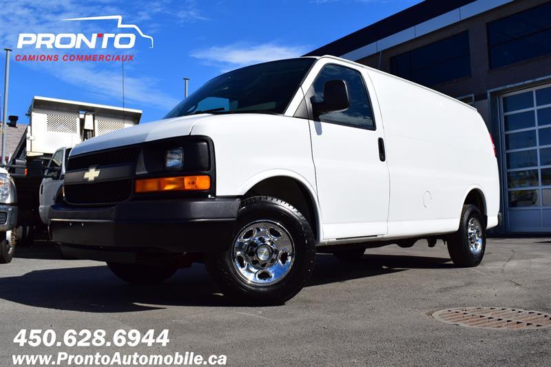 2012 Chevrolet Express Cargo Van 2500 ** 4.8L ** BAS KM ** CONDITION EXCEPTIONNELLE #1362