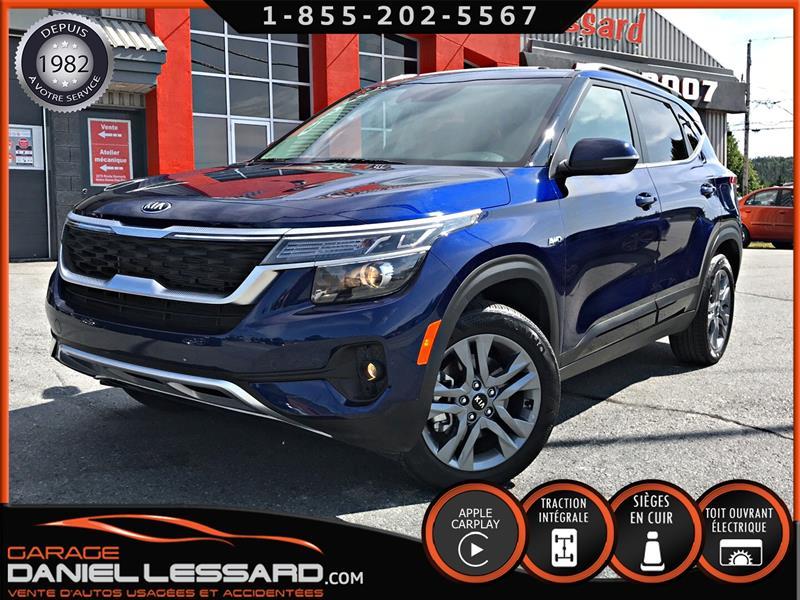 Kia Seltos 2021 EX, AWD, CUIR, TOIT, MAG,  #10465