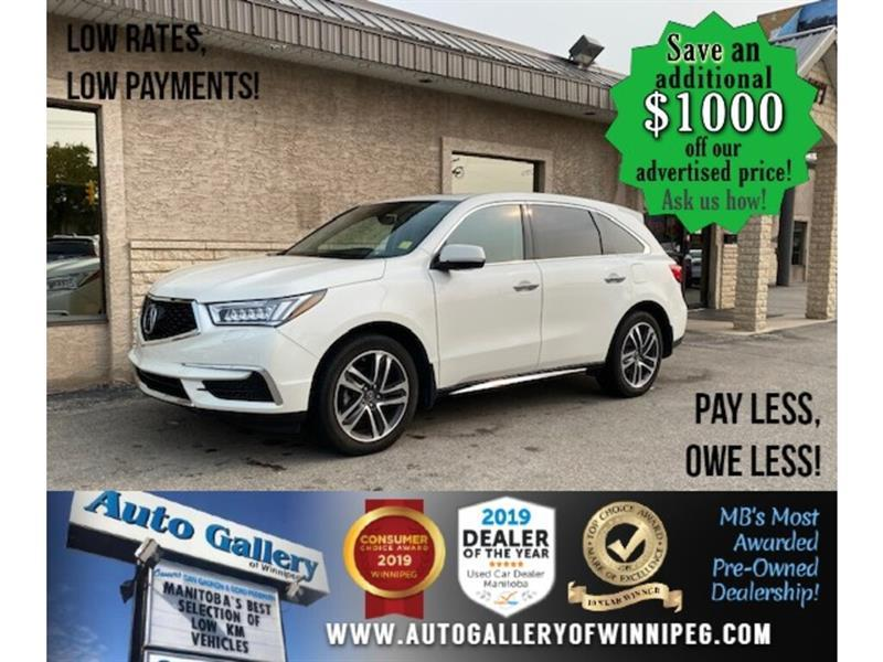 2017 Acura MDX Tech Pkg* Nav/Awd/7 pass #24562
