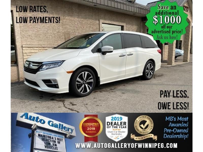 2018 Honda Odyssey Touring* B.cam/Htd seats/Nav #24563