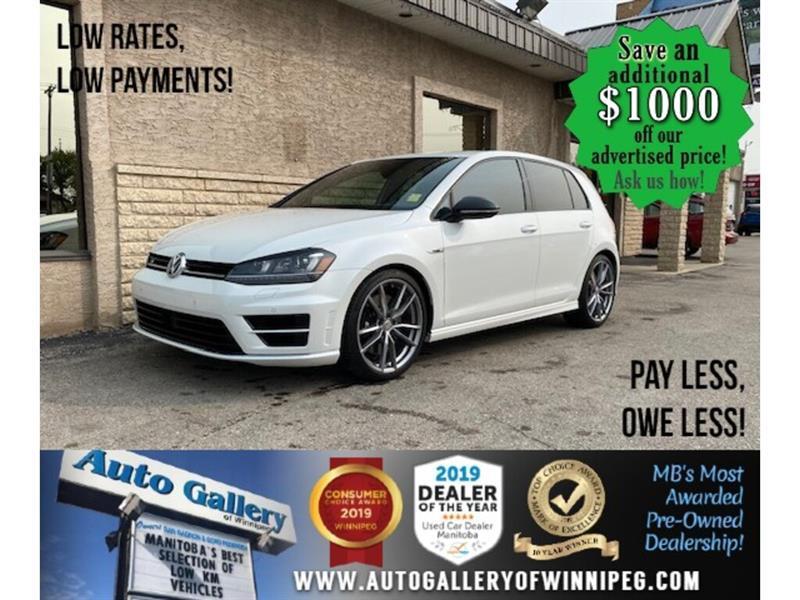 2017 Volkswagen Golf R R* HB/Lthr /Nav/B.cam #24574