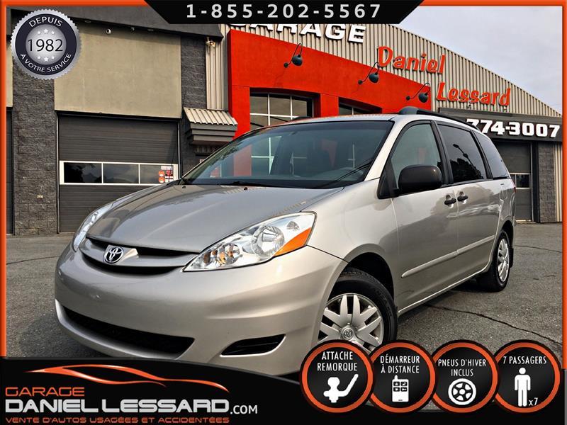 Toyota Sienna 2010 CE, GR ÉLECTRIQUE, 8 ROUES / 8 PNEUS, A/C OK #00459