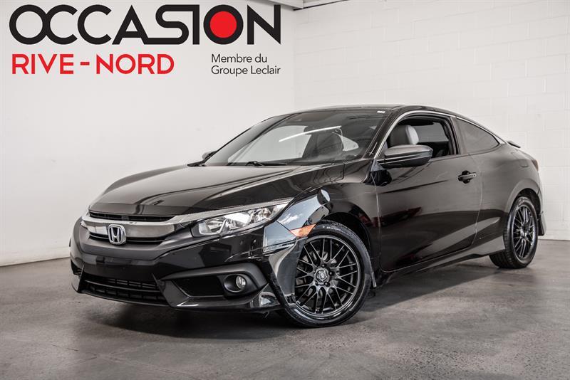 2016 Honda Civic Coupe EX-T with Honda Sensing