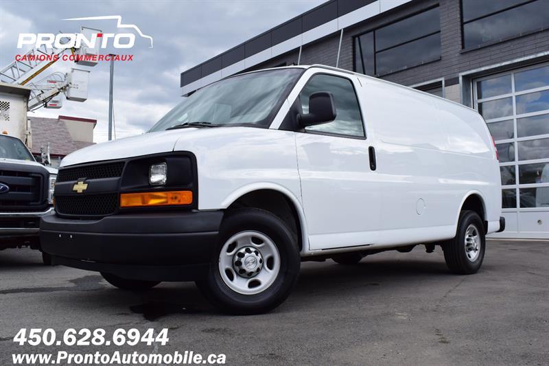 Chevrolet Express Cargo Van 2017 2500 ** 4.8L ** Full rack ** INSPECTÉ & CERTIFIÉ * #1367