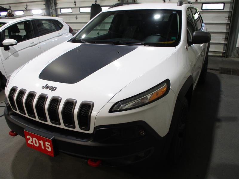 2015 Jeep Cherokee 4WD 4dr Trailhawk #FW777042A