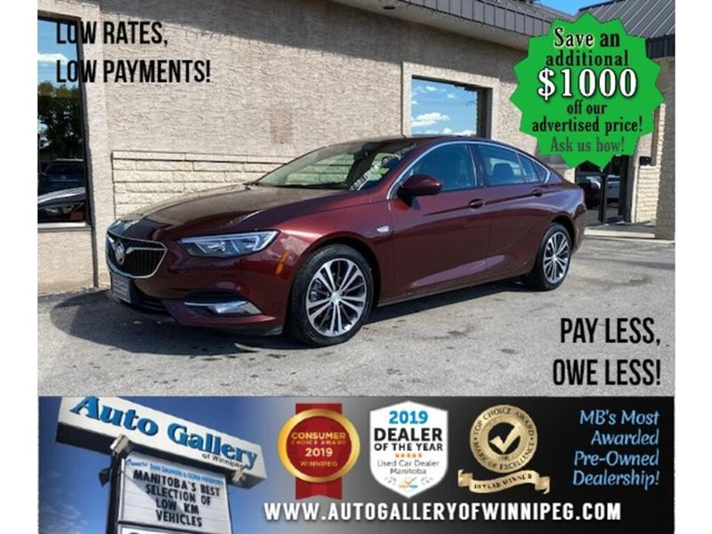 2019 Buick Regal Preferred II* B.cam/B.tooth #24582