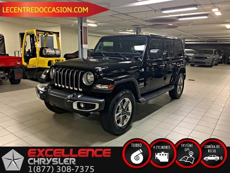 Jeep Wrangler UNLIMITED SAHARA 4X4 *NAV/CAME 2020
