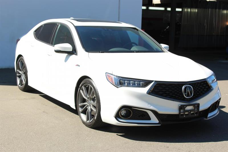 2018 Acura TLX SH-AWD Tech A-Spec - Red Leather. SXM. #13070A (KEY 109)