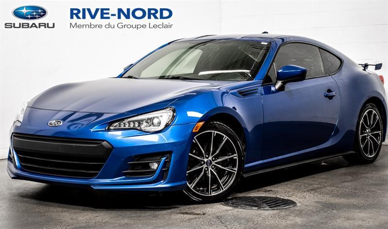 2017 Subaru BRZ Sport-tech RWD