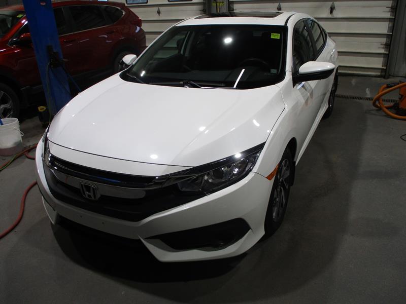2018 Honda Civic Sedan EX CVT #JH023791A