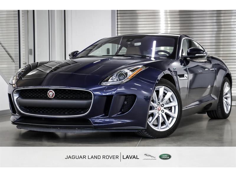 Jaguar F-Type Coupe *TRANSMISSION MANUELLE* 2017
