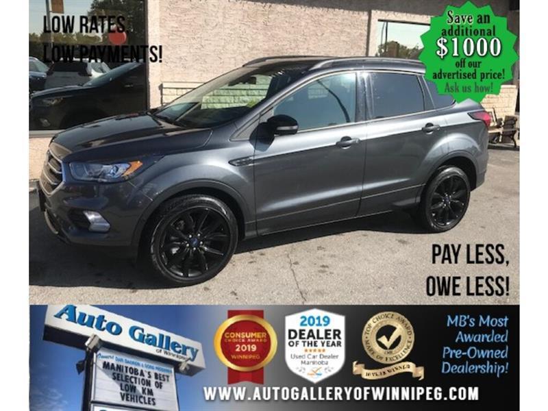 2019 Ford Escape Titanium* 4WD/Navi/Htd seats #24595