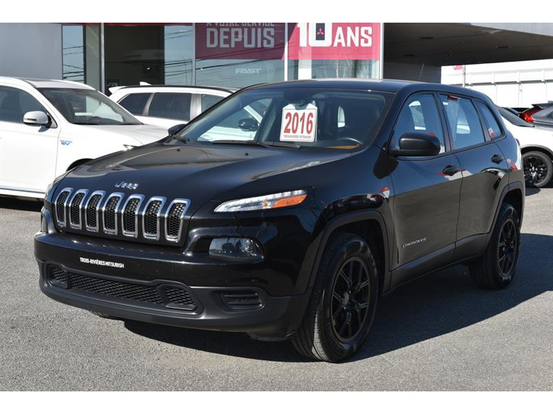 2016 Jeep  Cherokee AWD SPORT VOLANT CHAUFFANT ENS