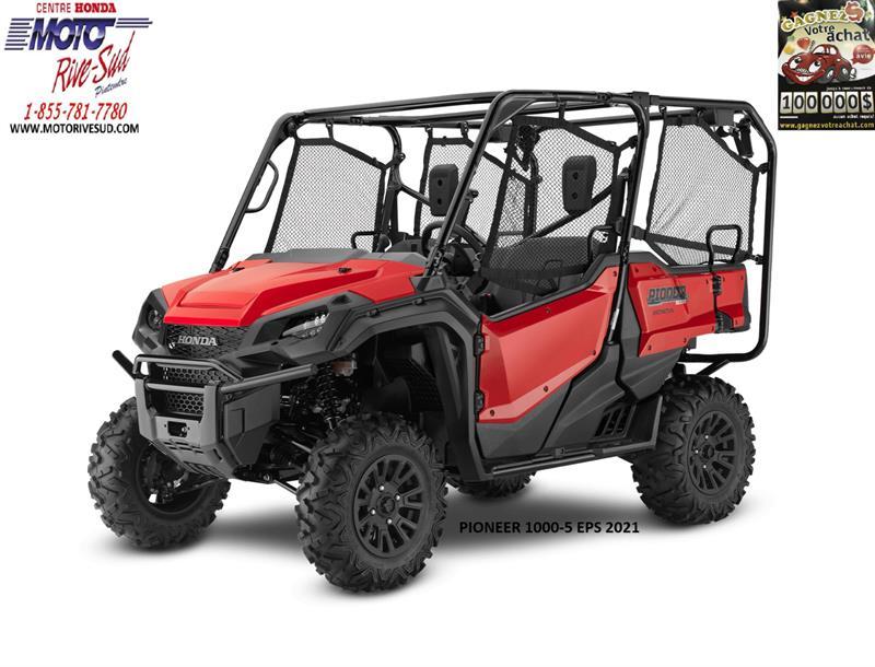 Honda PIONEER 1000-5 EPS 2021 CÔTE À CÔTE